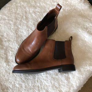 Ralph Lauren short leather boots